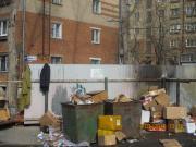 количество невывезенного мусора