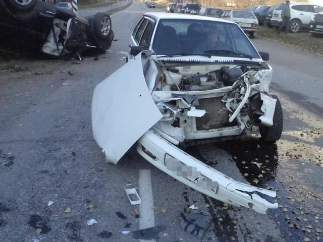 ВСнежинске автоледи пострадала в трагедии спереворотом