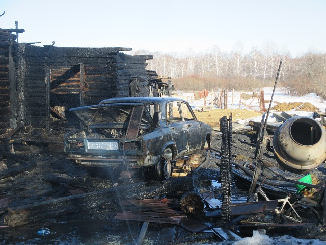 Четырехлетний ребенок умер напожаре вЧелябинской области