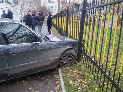 Пытаясь вырваться на свободу, миасские автомобили самостоятельно совершали ДТП