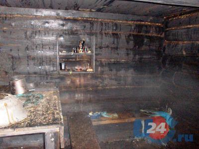 В Чебаркуле первоклассник случайно поджег баню и опалился сам