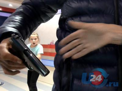 Опасные игрушки: на соревнования по скалолазанию в Миассе мальчик пришел с пистолетом
