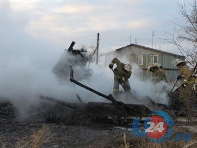 Задержан подозреваемый в поджоге двухэтажки в селе Бобровка, лишивший крова 14 человек
