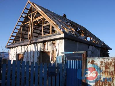 Из-за взрыва газа хозяин дома в Мисяше получил тяжелые ожоги и лишился крыши над головой