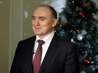 Борис Дубровский напомнил о главных событиях 2014 года и поздравил южноуральцев с 2015-м