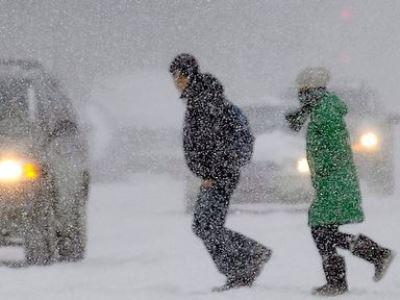 На Южный Урал идут из Москвы снегопады и метели
