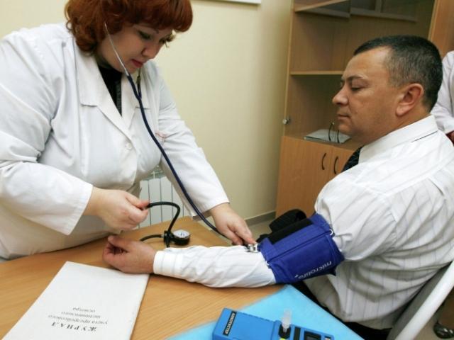 Работа врача на предприятии