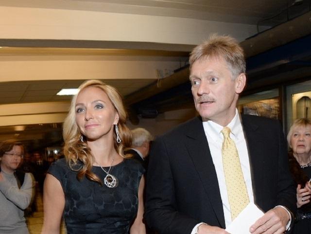 Татьяна Навка подарила Пескову на свадьбу часы стоимостью в 37 миллионов рублей