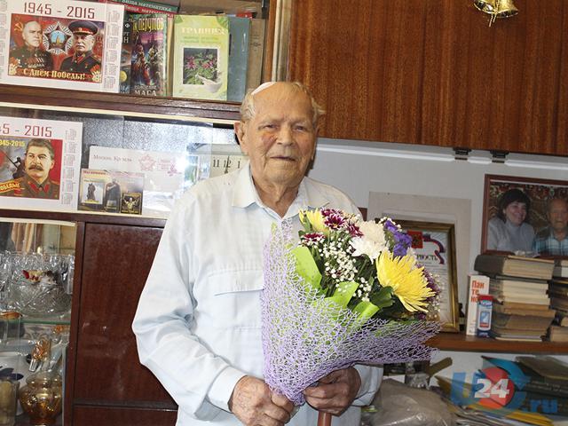 Ветерану-долгожителю из Троицка исполнилось 103 года