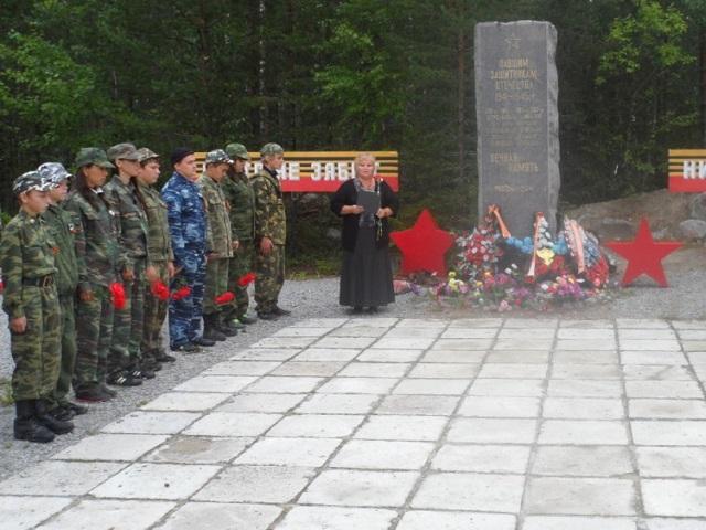 В Карелии установили памятник южноуральцам, погибшим на Второй мировой