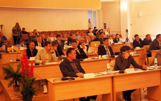 Вчера состоялась 52-я сессия Собрания депутатов МГО