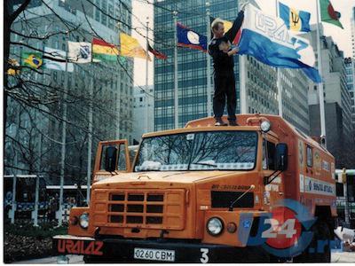 Владимир Глебов проехал на Уралах по четырем из шести континентов нашей планеты