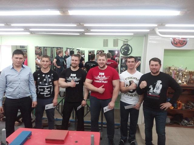 Троицкие рукоборцы померялись силами в Челябинске