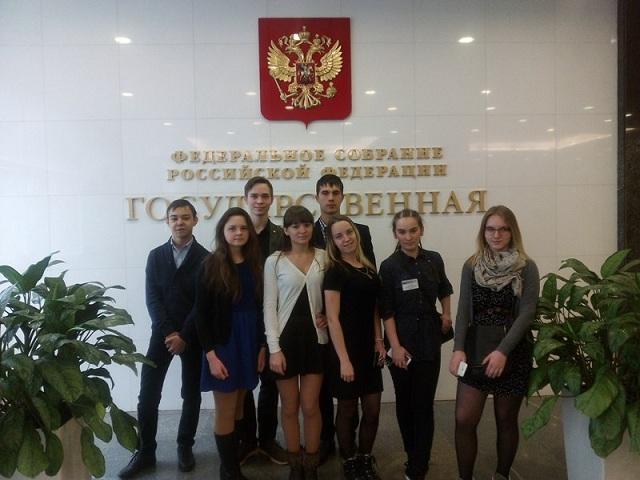 Ашинский школьник побывал в Госдуме и познакомился с Владимиром Жириновским