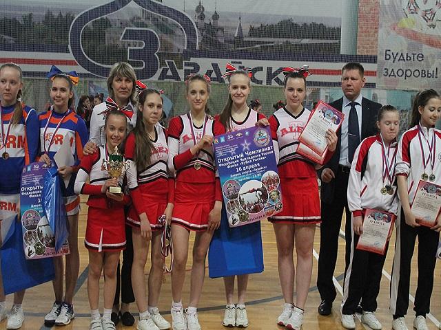 Чирлидеры из Троицка — лучшие в России