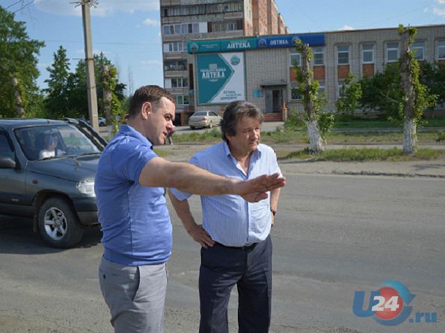 Глава Южноуральска объехал город с дежурной инспекцией