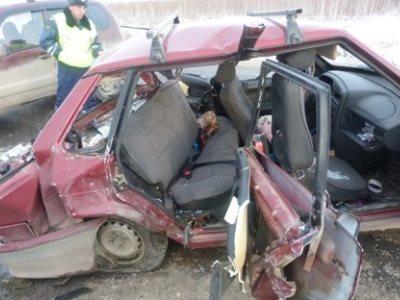 На М-5 при столкновении пяти автомобилей погибли четыре человека