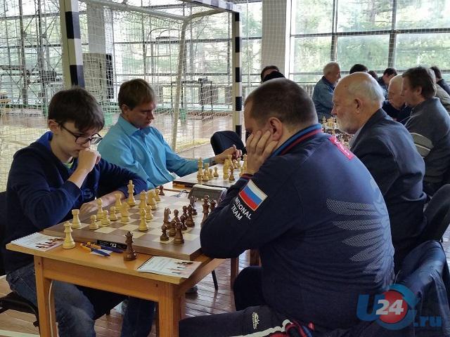 В Аше прошел всероссийский турнир по быстрым шахматам