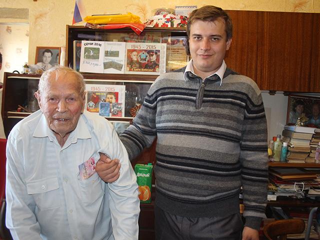 В Троицке отметил день рождения 104-летний долгожитель