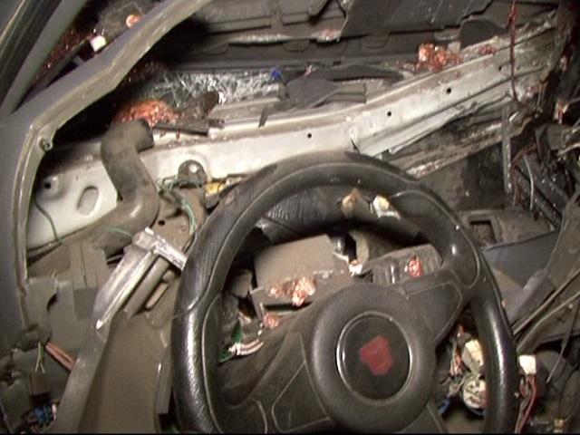 «Газель» спивом разбилась вЧелябинске. шофёр был нетрезв