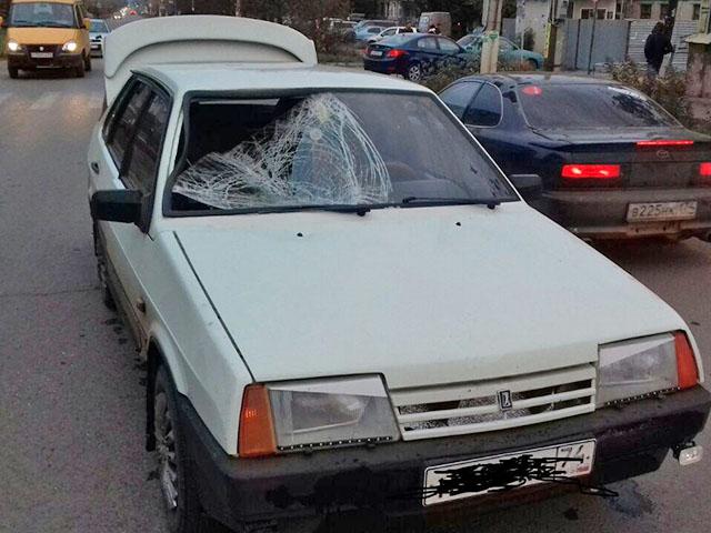 В Троицке водитель «99-ой» сбил пенсионерку на «зебре»