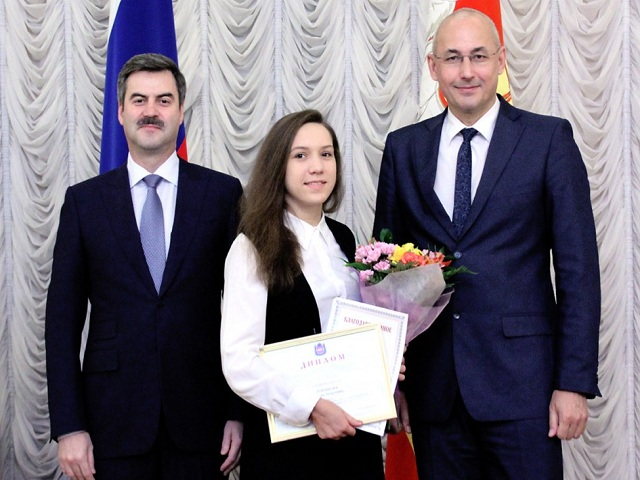 Талантливые школьники Челябинской области получили премии губернатора