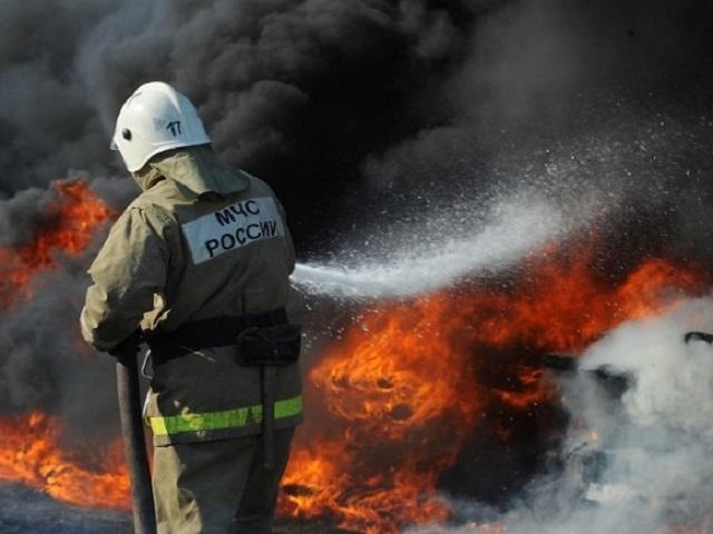 Челябинка спасла сына отпожара, бросив его изокна
