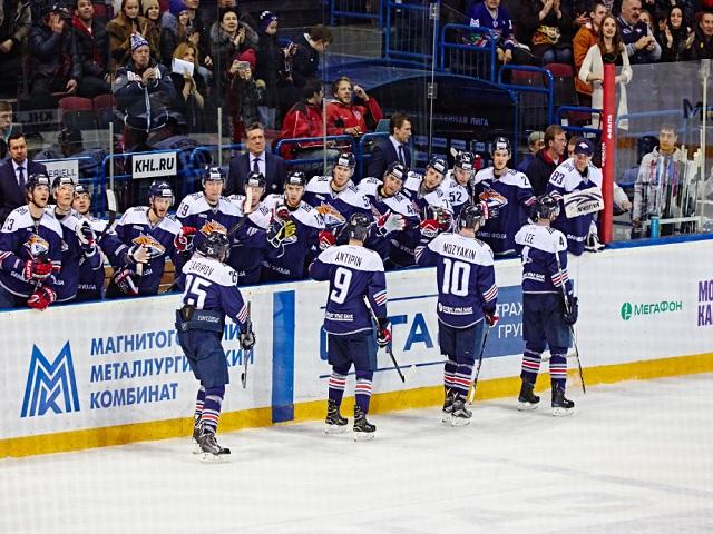 Магнитогорский «Металлург» победил «Витязь» вматче КХЛ