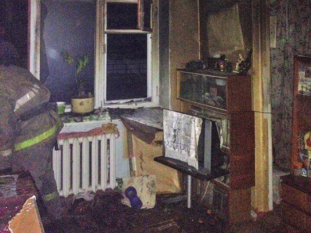 На пожаре в Троицке погибла пенсионерка