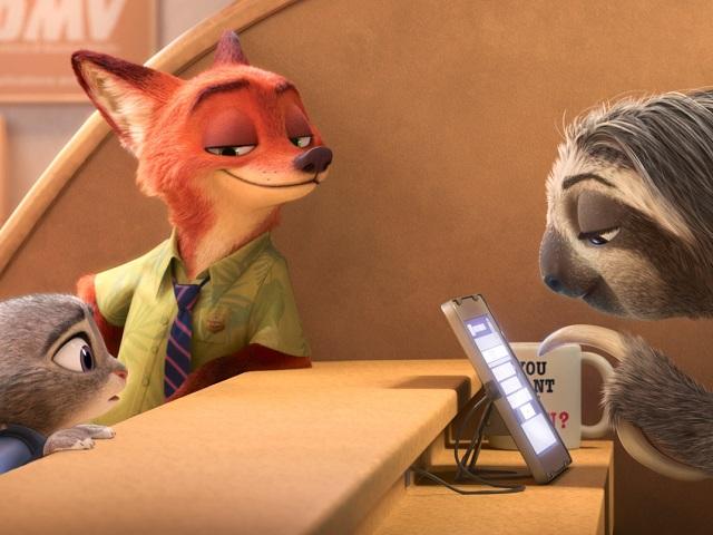 Лучшим мультфильмом следующего года признали «Зверополис»
