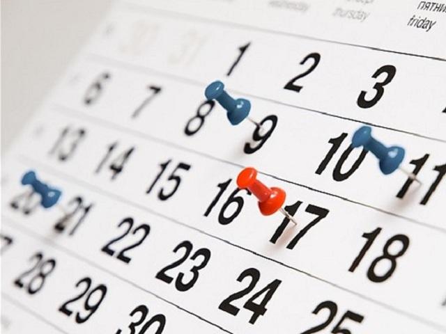 Календарь праздничных и выходных дней в 2017 году. Инфографика
