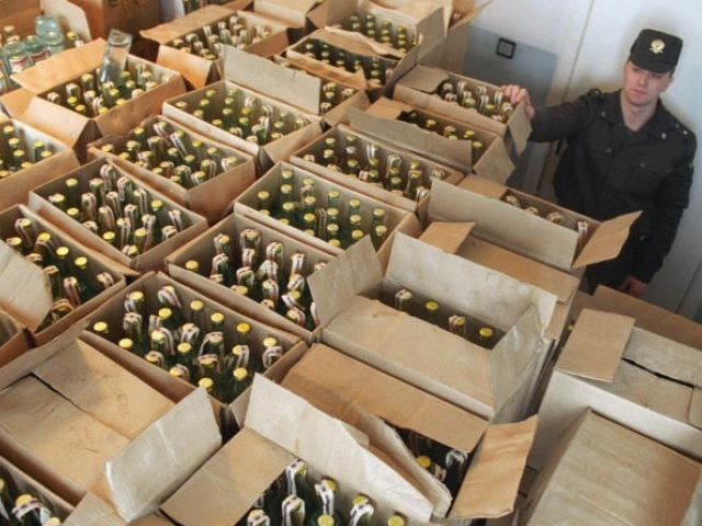 47 тыс. литров незаконной водки обнаружили наскладе вМагнитогорске