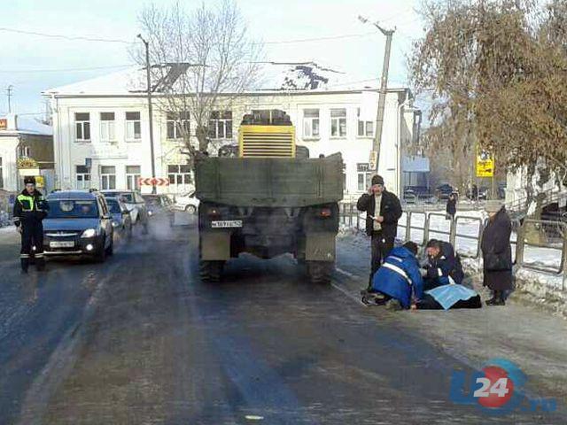 ВМиассе 80-летняя пенсионерка погибла под колесами «Урала»