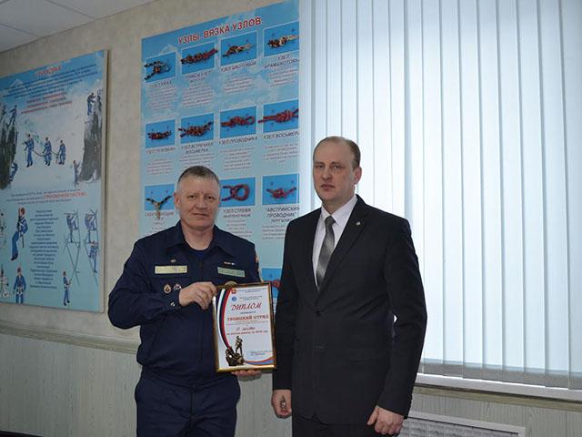 Лучший спасатель Южного Урала живет в Троицке