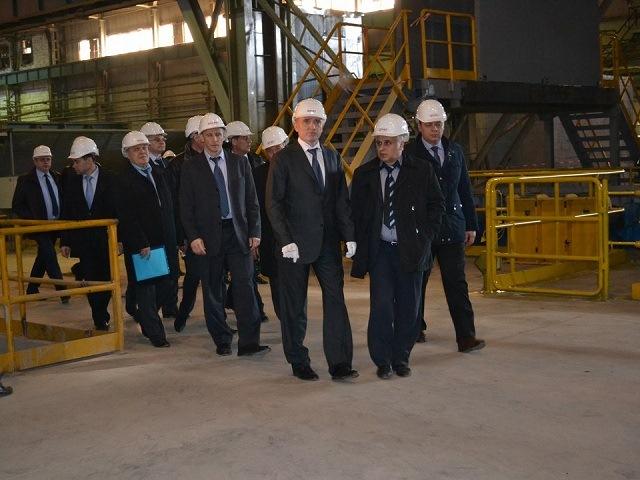 Губернатор посетил Ашинский металлургический завод срабочим визитом