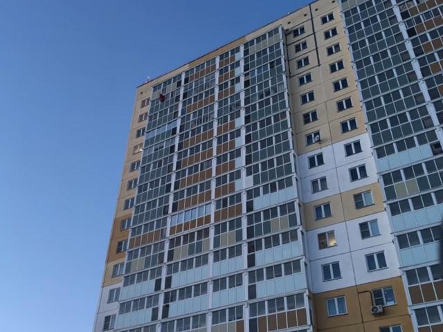 Экстремал спрыгнул с18 этажа вЧелябинске