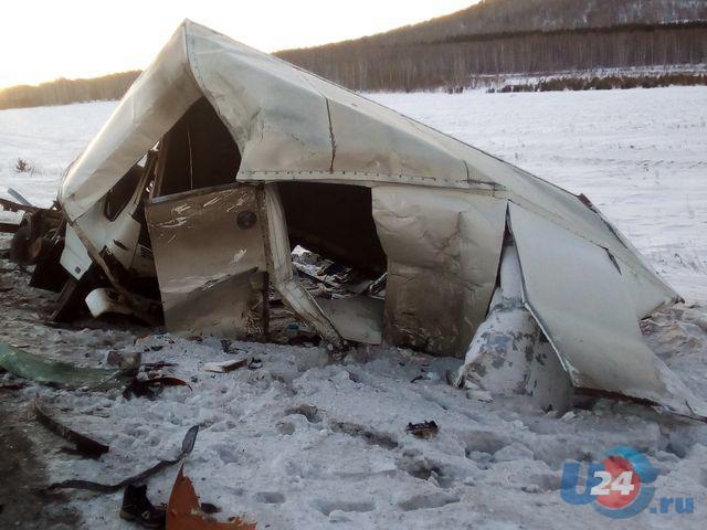 Шофёр фургона умер встолкновении натрассе М-5