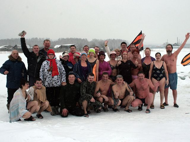 Торжественный заплыв моржей пройдет вНижнем Новгороде 8марта