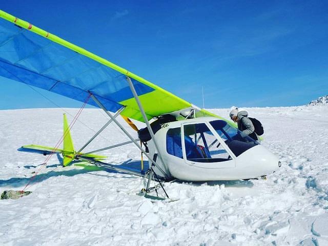 Личный самолёт аварийно приземлился в государственном парке «Зюраткуль»