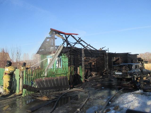 4-летний ребенок погиб на пожаре в Челябинской области