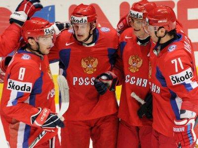 Российские хоккеисты победили команду Словении