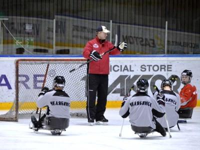 В Челябинске появилась команда по следж-хоккею