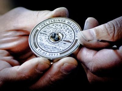 Сегодня на Олимпиаде вручат медали с осколками метеорита