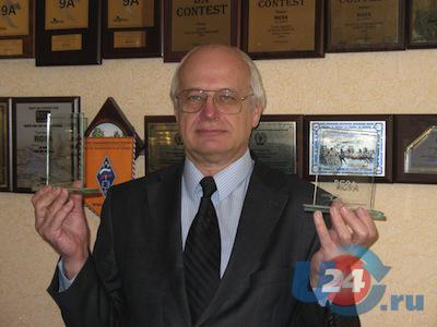Челябинец Юрий Куриный стал чемпионом мира по радиоспорту