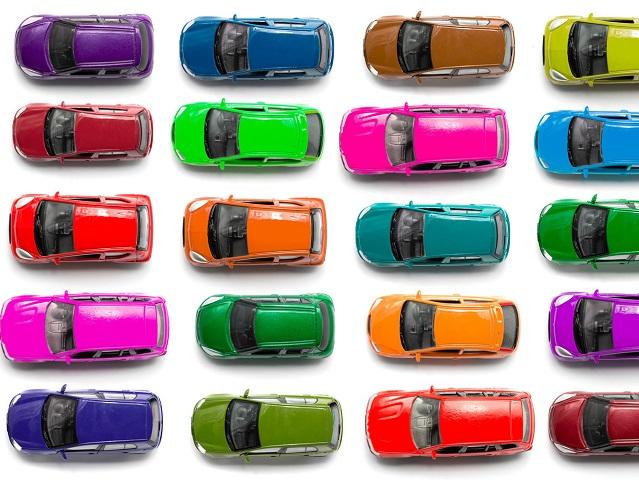 Автомобили черного цвета являются наиболее популярными вмире