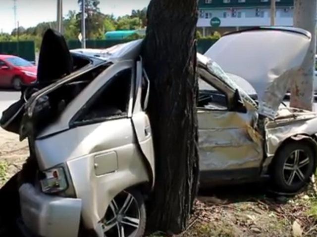ВЧелябинске вДТП маршрутки илегковушки пострадало три человека