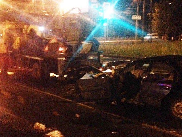Ночью вЧелябинске случилось сразу 2 серьезных ДТП спогибшим ипострадавшими