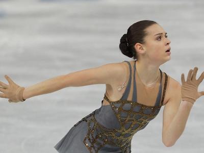 Аделина Сотникова - первая российская фигуристка, завоевавшая золото Олимпиады