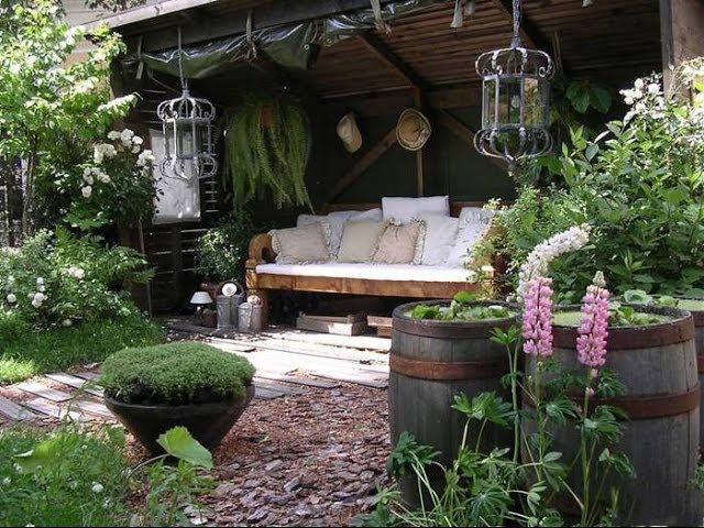Фото уютный уголок на даче своими руками