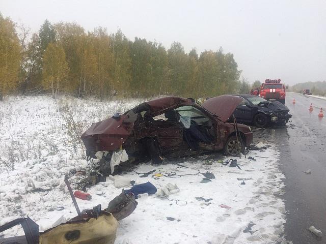 19-летний шофёр иномарки устроил смертельное ДТП под Челябинском